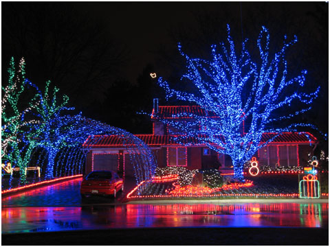 Awesome Christmas Lights Photo
